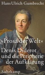 'Prosa der Welt' - Cover