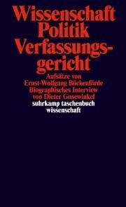 Wissenschaft, Politik, Verfassungsgericht - Cover