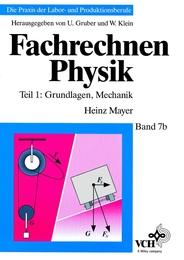 Fachrechnen Physik 1 - Cover