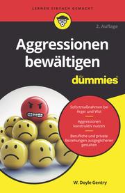 Aggressionen bewältigen für Dummies - Cover