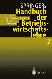 Springers Handbuch der Betriebswirtschaftslehre 2