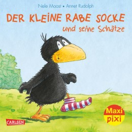 Der kleine Rabe Socke und seine Schätze