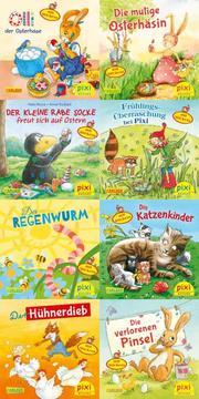 Ostern und Frühling mit Pixi - mit Stickern (8x8 Exemplare)
