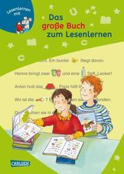 Das große Buch zum Lesenlernen - Cover