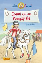 Conni und die Ponyspiele - Cover