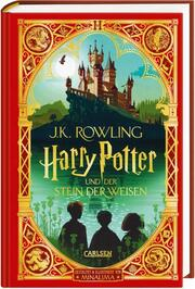 Harry Potter und der Stein der Weisen: MinaLima-Ausgabe - Cover