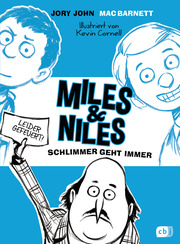 Miles & Niles - Schlimmer geht immer - Cover