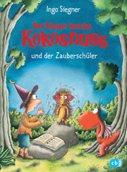 Der kleine Drache Kokosnuss und der Zauberschüler - Cover