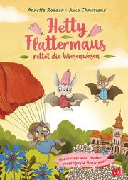 Hetty Flattermaus rettet die Wiesenwesen - Cover