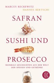 Safran, Sushi und Prosecco - Cover