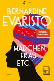 Mädchen, Frau etc. - Booker Prize 2019 - Cover