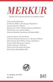 MERKUR Gegründet 1947 als Deutsche Zeitschrift für europäisches Denken - 2019-06