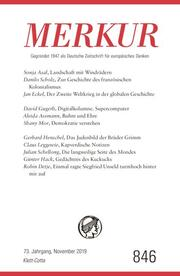 MERKUR Gegründet 1947 als Deutsche Zeitschrift für europäisches Denken - 2019-09