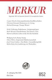 MERKUR Deutsche Zeitschrift für europäisches Denken 852