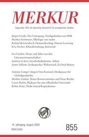 MERKUR Deutsche Zeitschrift für europäisches Denken 855