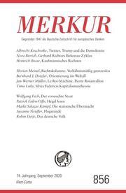 MERKUR Deutsche Zeitschrift für europäisches Denken 856