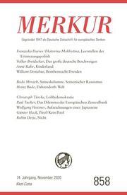 MERKUR Deutsche Zeitschrift für europäisches Denken 858