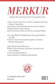 MERKUR Gegründet 1947 als Deutsche Zeitschrift für europäisches Denken - 2021-02