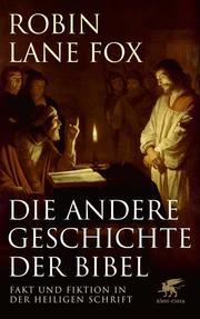 Die andere Geschichte der Bibel - Cover