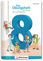 Das Übungsheft Mathematik 8 - Cover