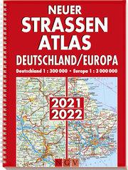Neuer Straßenatlas Deutschland/Europa 2021/2022 - Cover