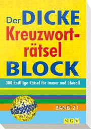 Der dicke Kreuzworträtsel-Block 21 - Cover