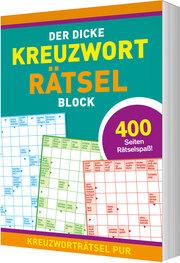 Der dicke Kreuzworträtselblock - Cover