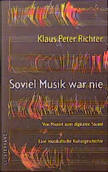 Soviel Musik war nie - Cover