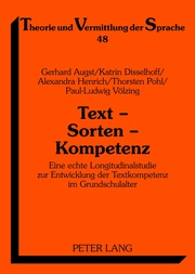Text - Sorten - Kompetenz