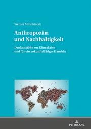Anthropozän und Nachhaltigkeit - Cover