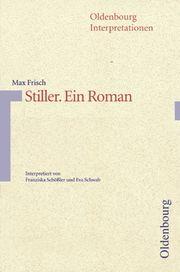 Max Frisch: Stiller - Cover