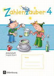 Zahlenzauber - Mathematik für Grundschulen - Ausgabe Bayern 2014 - Cover