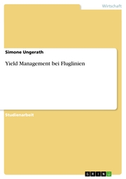 Yield Management bei Fluglinien - Cover