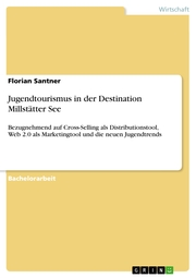 Jugendtourismus in der Destination Millstätter See - Cover