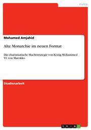 Alte Monarchie im neuen Format - Cover