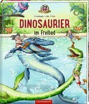 Dinosaurier im Freibad - Cover