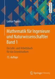 Mathematik für Ingenieure und Naturwissenschaftler 1 - Cover