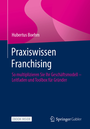 Praxiswissen Franchising - Cover