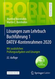 Lösungen zum Lehrbuch Buchführung 1 DATEV-Kontenrahmen 2020 - Cover