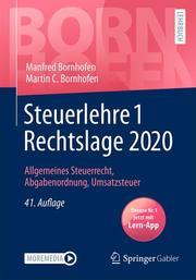 Steuerlehre 1 Rechtslage 2020 - Cover