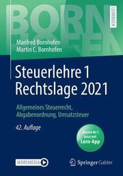 Steuerlehre 1 Rechtslage 2021 - Cover