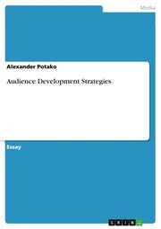 Audience Development Strategies