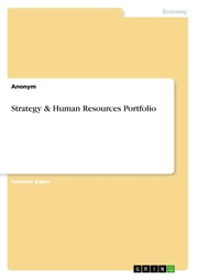 Strategy & Human Resources Portfolio