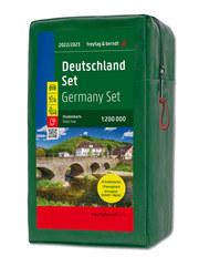 Deutschland, Straßenkarten-Set 1:200.000 - Cover