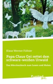 Papa Claus Gei rettet den schwarz-weißen Urwald
