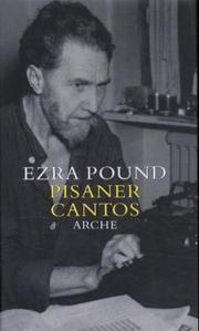 Pisaner Cantos - Cover