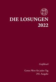 Losungen Deutschland 2022 / Die Losungen 2022 - Cover