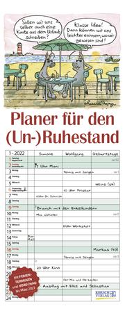 Planer für den (Un-)Ruhestand 2022 - Cover