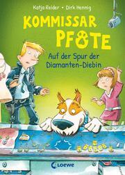 Kommissar Pfote 2 - Auf der Spur der Diamanten-Diebin - Cover