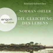 Die Gleichung des Lebens (Autorisierte Lesefassung) - Cover